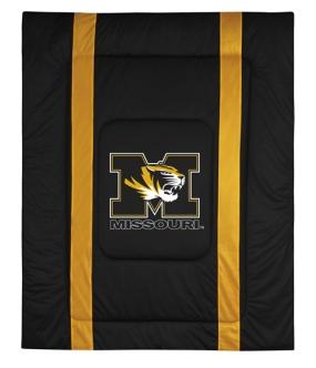 Missouri Tigers Sidelines Comforter