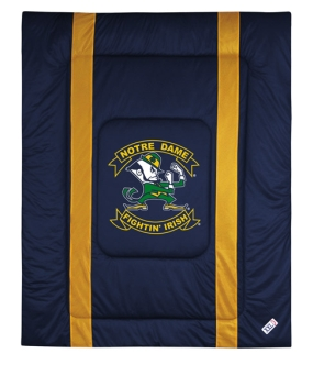 Notre Dame Fighting Irish Sidelines Comforter