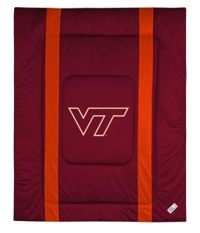 Virginia Tech Hokies Sidelines Comforter