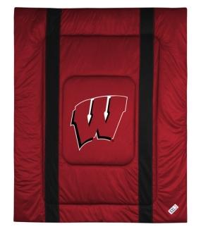 Wisconsin Badgers Sidelines Comforter