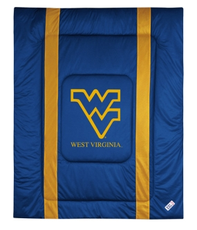 West Virginia Mountaineers Sidelines Comforter