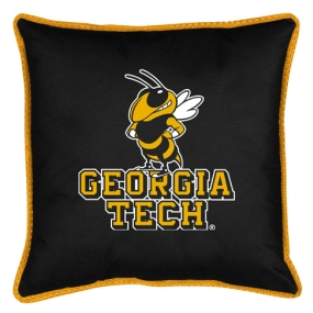 Georgia Tech Yellow Jackets Toss Pillow