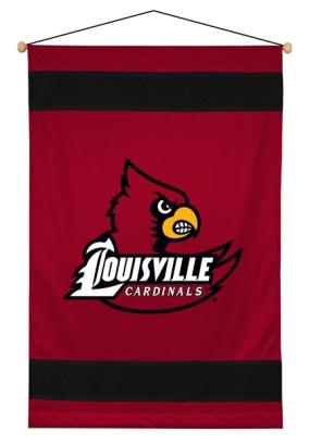 Louisville Cardinals Wall Hanging
