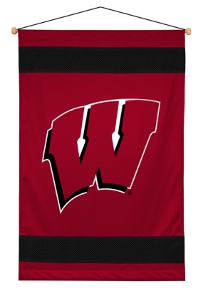 Wisconsin Badgers Wall Hanging