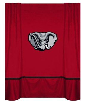 Alabama Crimson Tide Shower Curtain