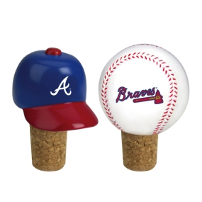 Atlanta Braves Bottle Cork Set
