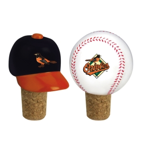 Baltimore Orioles Bottle Cork Set