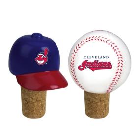 Cleveland Indians Bottle Cork Set