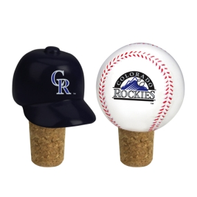 Colorado Rockies Bottle Cork Set