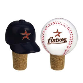Houston Astros Bottle Cork Set