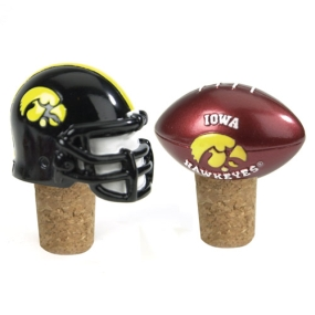 Iowa Hawkeyes Bottle Cork Set
