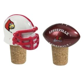 Louisville Cardinals Bottle Cork Set