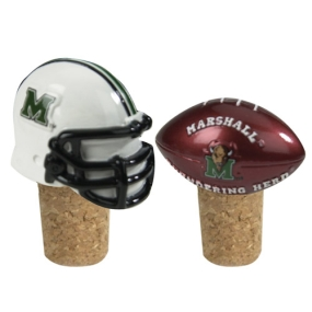 Marshall Thundering Herd Bottle Cork Set