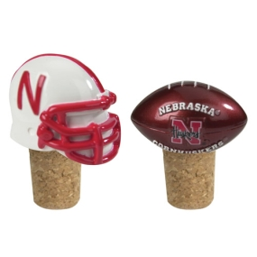 Nebraska Cornhuskers Bottle Cork Set