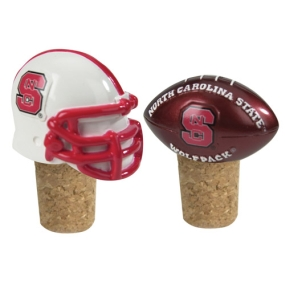N.C. State Wolfpack Bottle Cork Set