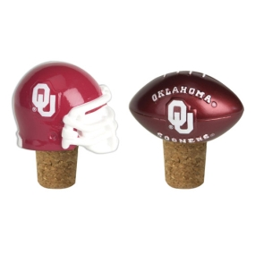 Oklahoma Sooners Bottle Cork Set