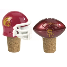 USC Trojans Bottle Cork Set