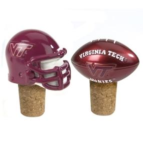 Virginia Tech Hokies Bottle Cork Set