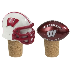 Wisconsin Badgers Bottle Cork Set