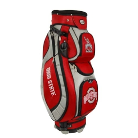 Ohio State Buckeyes Letterman's Club II Cooler Cart Golf Bag