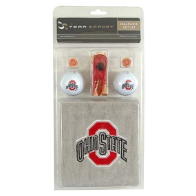 Ohio State Buckeyes Golf Gift Set