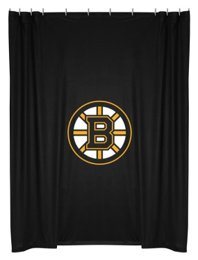 Boston Bruins Shower Curtain