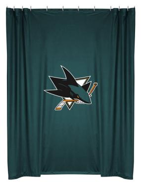 San Jose Sharks Shower Curtain