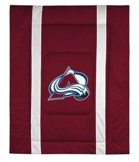 Colorado Avalanche Sidelines Comforter