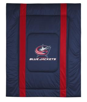 Columbus Blue Jackets Sidelines Comforter