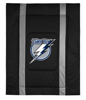 Tampa Bay Lightning Sidelines Comforter