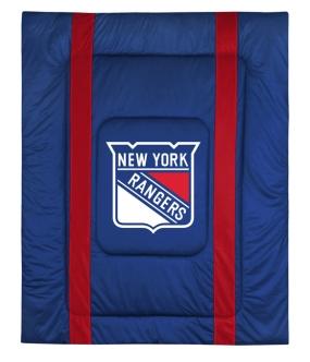 New York Rangers Sidelines Comforter