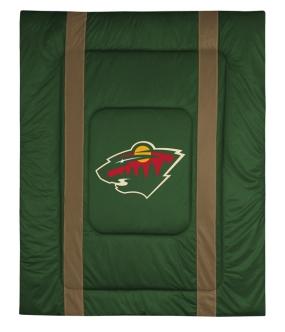 Minnesota Wild Sidelines Comforter