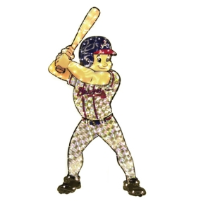 Atlanta Braves Animated Lawn Figure