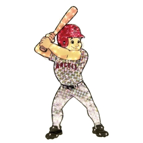 Anaheim Angels Animated Lawn Figure