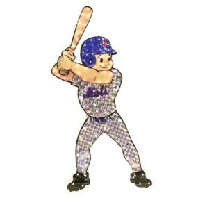 New York Mets Animated Lawn Figure