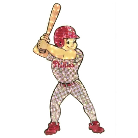 Philadelphia Phillies Animated Lawn Figure