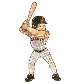 San Francisco Giants Animated Lawn Figure