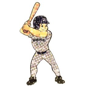 Seattle Mariners Animated Lawn Figure