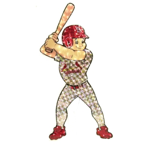 St. Louis Cardinals Animated Lawn Figure
