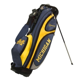 Michigan Wolverines GridIron Stand Golf Bag