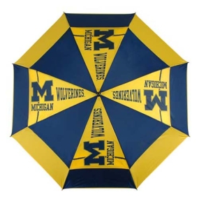 Michigan Wolverines Golf Umbrella