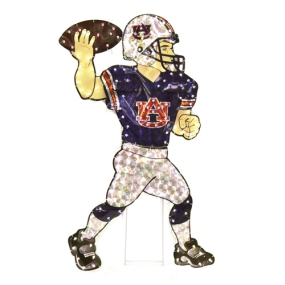 Auburn Tigers Animated Lawn Figure