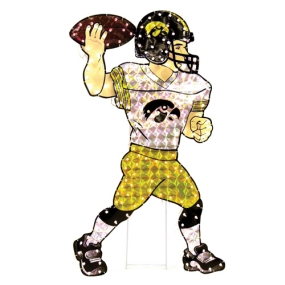 Iowa Hawkeyes Animated Lawn Figure