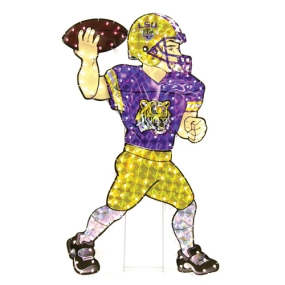 LSU Tigers Animated Lawn Figure
