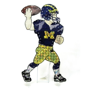 Michigan Wolverines Animated Lawn Figure