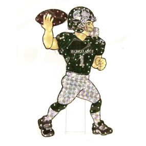 Michigan State Spartans Animated Lawn Figure