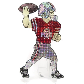 Ohio State Buckeyes Animated Lawn Figure