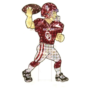 Oklahoma Sooners Animated Lawn Figure