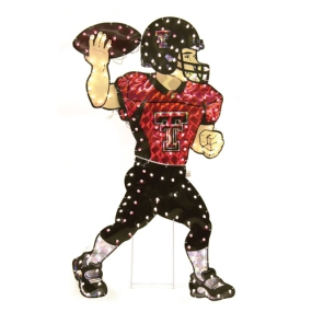 Texas Tech Red Raiders Animated Lawn Figure