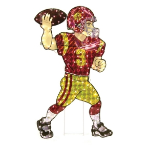 USC Trojans Animated Lawn Figure